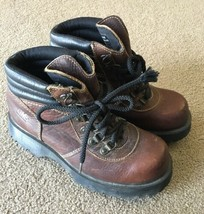 Dr Marten's DM's Leather Boot Sz 6 Made In England Brown Hiking 2000s Wa... - $36.62