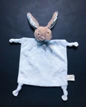 Dan Dee Bunny Lovey Rattle Security Blanket Knotted Corners Plush Stuffe... - $19.79