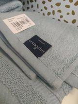 Spa Solid Washcloth Acoustic Aqua - Fieldcrest -13'' x 13''-100% cotton-NEW !  image 6