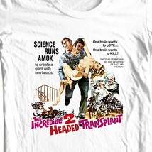 The Incredible 2 Headed Transplant T-shirt retro sci fi horror film B-Movie tee image 1