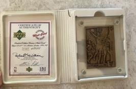 Highland Mint 1991/92 Upper Deck Michael Jordan Bronze Card #44 Bulls - $59.40