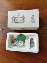 Department 56 Heritage Village 2 Piece Set Christmas Bazaar Sign 56598 (NEW) - $14.80