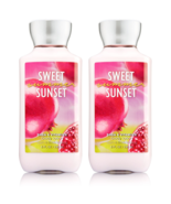 Bath & Body Works Sweet Summer Sunset Body Lotion 8 fl oz Set Of Two Bot... - $15.06