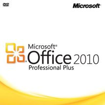 Microsoft Office 2010 Professional Plus 32bit & 64bit for Windows - 1 PC... - $29.99