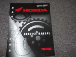 2006 2007 2008 Honda TRX250EX Trx 250EX Service Repair Shop Manual Factory - $99.00