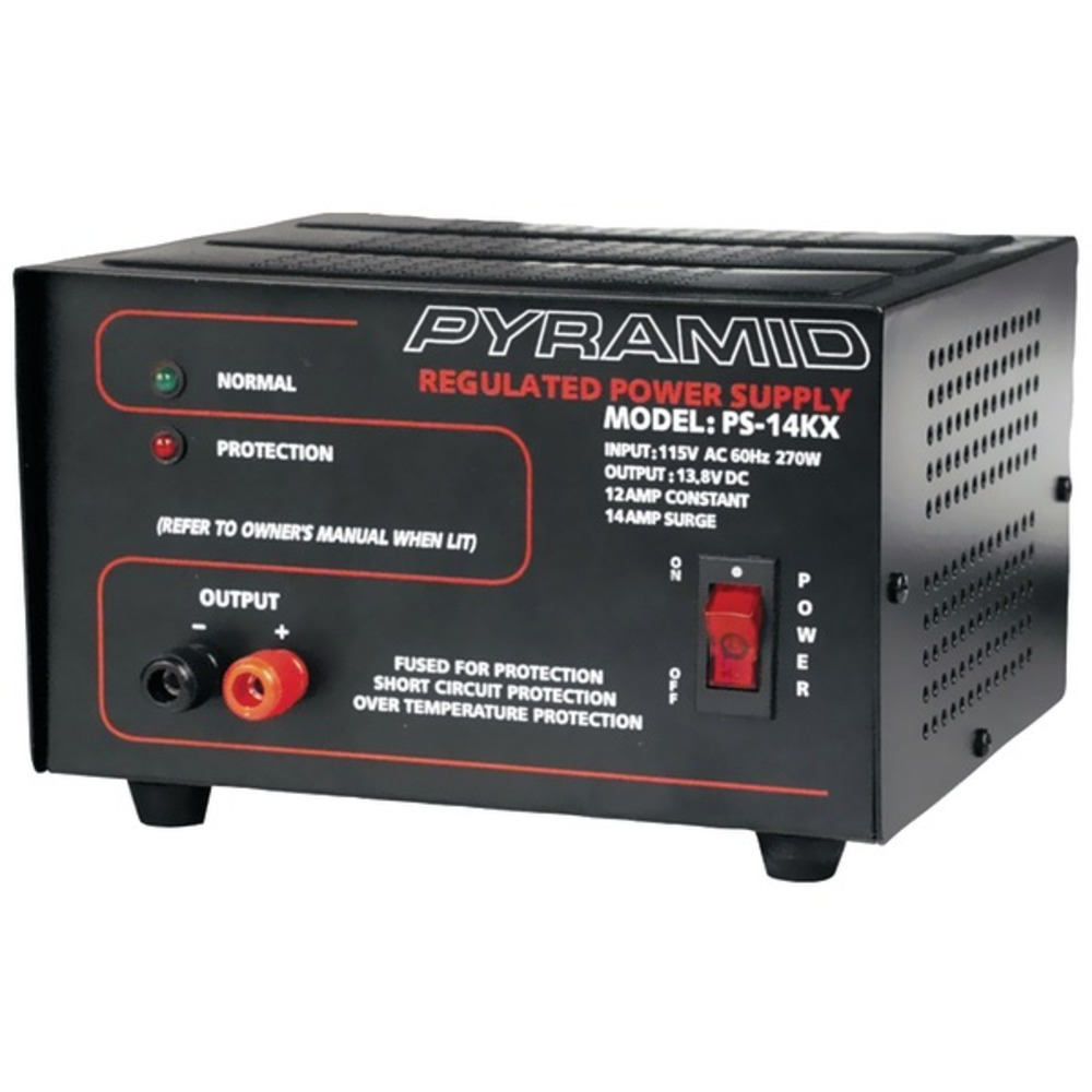 Primary image for Pyramid Car Audio PS14KX 12-Amp Bench Power Supply