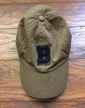 VTG Banana Republic Preppy Hipster Canvas Baseball Cap Hat Adjustable OSFA - $24.74