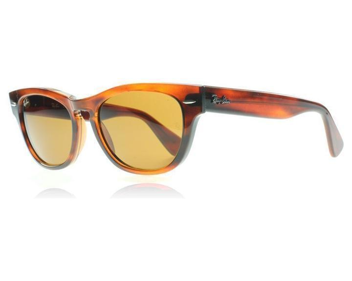 591314e31c Ray Ban LARAMIE RB4169 820 Striped Tortoise-Brown B15 Mineral Glass Lens  53mm - £141.53 GBP