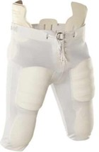 Youth White Football Pants - 5 Pairs All Size Y2XL Lot Sale NWT Slotted ... - $14.84