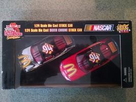 1999 Racing Champions 2 CAR SET 1/24 Bill Elliott #94 McDonalds Silver C... - $12.82