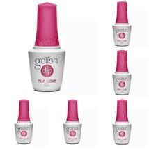 Gelish Dip Powder Essentials Step #4- TOP COAT 0.5 oz 6 Pcs - $44.55