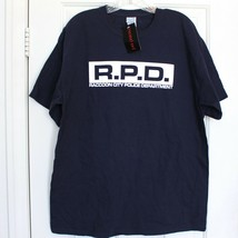 Resident Evil RPD Raccoon City Police Department  Mens Size Large Blue T... - $11.29