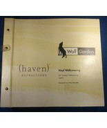 1 Wallpaper Sample Book Wolf Gordon Haven Refractions 12.5x11.5 inch 137... - $37.00