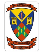 USMC 2nd Battalion 5th Marine Sticker - $9.89
