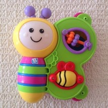 B Kids Light 'N Sound Butterfly Book - Developmental Toy, EXCELLENT, #00... - $10.45