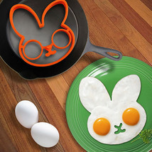 Silicone Rabbit Fried Egg Mold- Pancake Ring Shaper - $8.94 CAD
