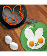 Silicone Rabbit Fried Egg Mold- Pancake Ring Shaper - $9.06 CAD