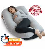PharMeDoc U-Shape Full Body Pregnancy Pillow + Detachable Extension - ALL COLORS - $39.39