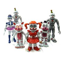 Five Nights at Freddy's  Action Figures New Edition FNAF Toy 6pcs 2017 E... - $15.83