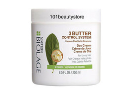 Matrix Biolage 3 Butter Control System Day Cream 8.5oz *New.Unboxed* - $19.75