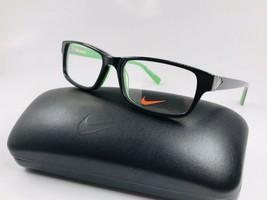 New KIDS NIKE 5528 015 Black & Flash Lime Eyeglasses 48mm with NIKE Case - $69.25