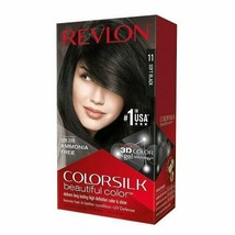 3 BOXES - REVLON COLORSILK BEAUTIFUL COLOR - 11 SOFT BLACK - $19.99