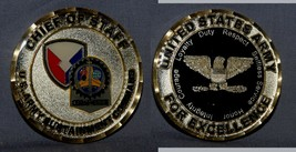 CHIEF OF STAFF U.S. Army Sustainment Command neat big gold challenge coin - $21.77