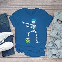 Swimming Funny Tee Floss Flossing Skeleton Water Polo Halloween Swim Unisex - $15.99+