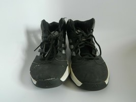 Mens Adidas Mid Shoes Black & Silver Size 8 - $17.99