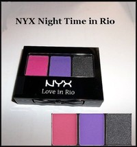 NEW NYX Love in Rio Professional Eyeshadow Palette  Nightime in Rio #LIR11 - $5.95