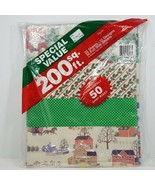 Vintage Artfaire Wrapping Paper Pack 200 Sq Feet Mixed Designs 32 Sheets... - $29.99