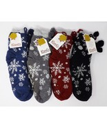 Cozy Hub No Slip Fleece Lined Slipper Socks - New - One Size Fits Most - $15.00