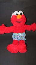 Elmo plush sesame street Nanco doll sailor hat swim bathing suit trunks ... - $12.99