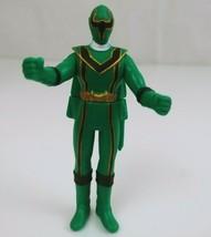 "2005 Green Power Ranger Mystic Force Bandai 3.5"" Action Figure  - $7.84"