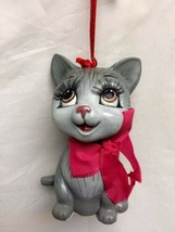 Katherine's Collection Gray Cat Christmas tree Ornament 28-28737 - $25.99