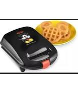 "NEW Disney ""Mickey Mouse"" BELGIAN WAFFLE  non-stick maker NEW OPEN BOX - $35.79"