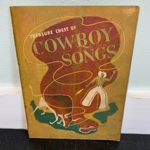 Treasure Chest of Cowboy Songs Book 1935 Vintage Railroad Corral Windy Bill - $4.89