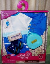 Our Generation Retro Fashion Flight Deluxe Outfit New - $13.88