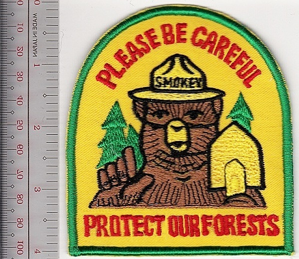 R usfs   nps us forest service  national park service please be careful protect our forests 9.99