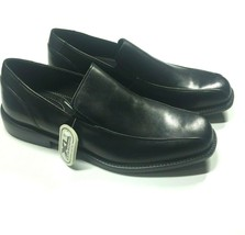 Bostonian Nasello Men's Shoes Size 10 M, Slip On Leather Loafers, Black - $40.46