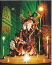 Sacred Circle Wizard Magic Glow In Dark 500 pc Bagged Boxless Jigsaw Puzzle - $12.00
