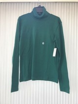 Basic Editions Womans Turtleneck Sweater Size S Ships N 24h - $16.64