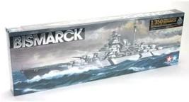Tamiya 1/350 Ship No.13 German Navy Battleship Bismarck Plastic 78013 JAPAN - $115.50