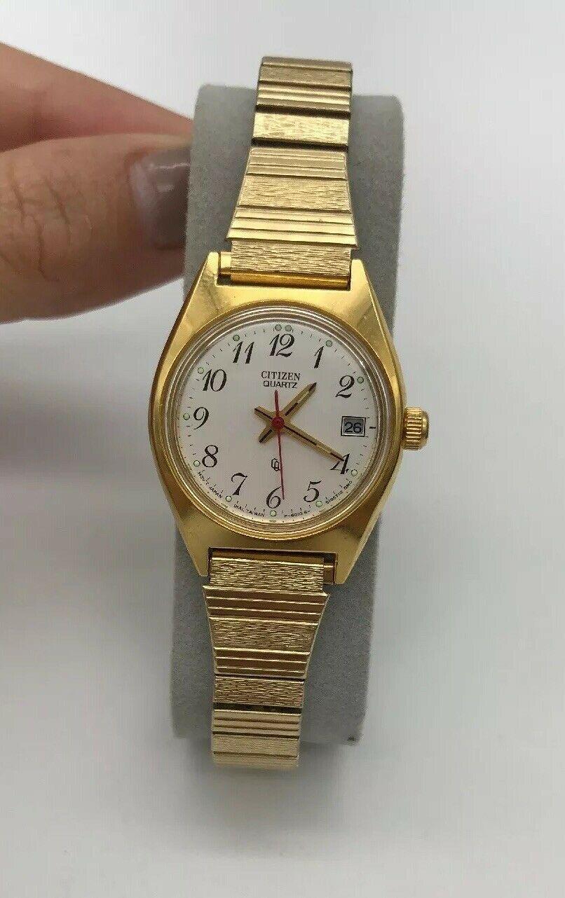 Vintage Women's CITIZEN Wrist Watch .......... Reloj de mujer marca CITIZEN.