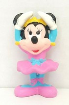 Disney Mini Mouse Ballerina Dancer 2in PVC Figure Applause Used - $14.00