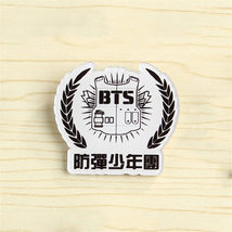KPOP BTS A.R.M.Y Bangtan Boys Album Acrylic Brooch Pin Badge - $7.45