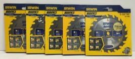 "(New) Irwin Marathon 5-3/8"" 18 T Circular Blade 14015 Lot of 5 - $36.62"