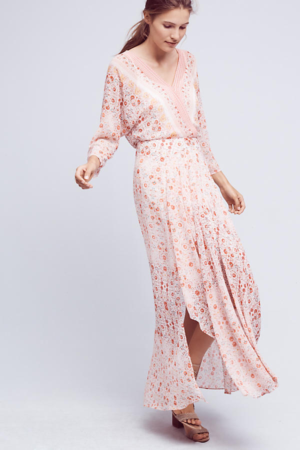 Primary image for NWT ANTHROPOLOGIE VARINA FLORAL MAXI DRESS by HD in PARIS 8