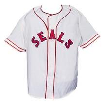 San Francisco Seals Pcl Retro Baseball Jersey 1957 Button Down White Any Size image 1