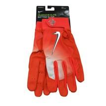 Nike Huarache Elite Baseball Batting Gloves Orange Size XXL NEW PGB543-864 - $39.55
